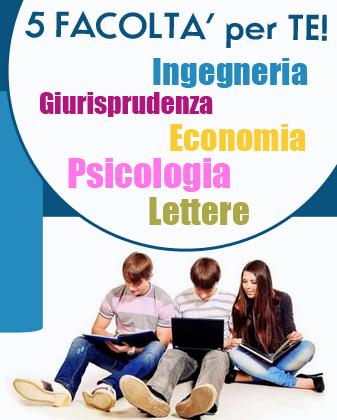 Ingegneria economia giurisprudenza lettere e psicologia for Test ammissione economia