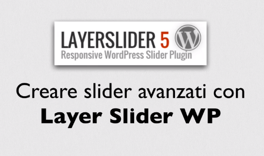 Corso Slider avanzati per WordPress